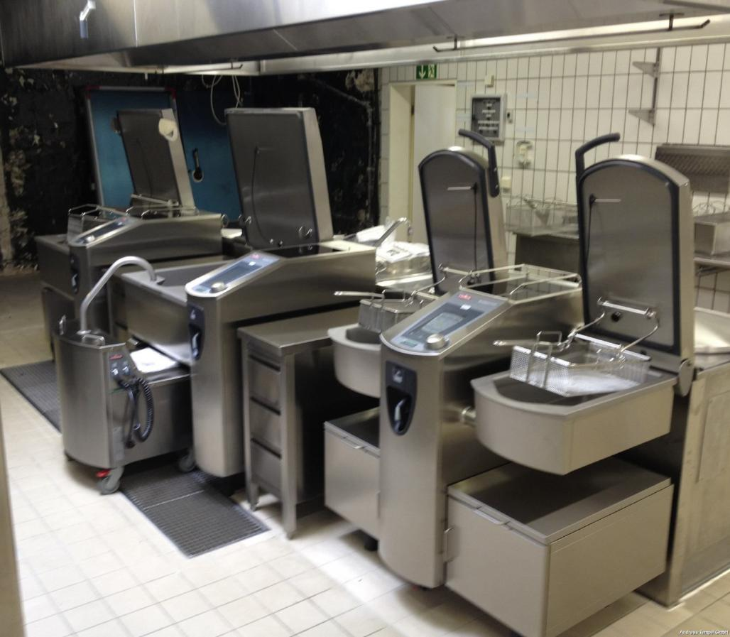 3 Frima VarioCooking Center 1x112, 1x211, 1x211+